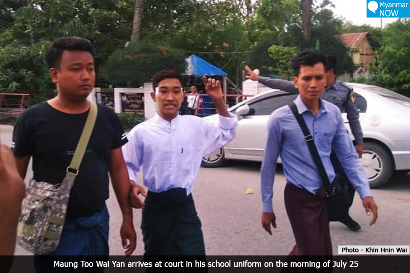 Teenager On Trial For Cement Factory Riot Says He Was