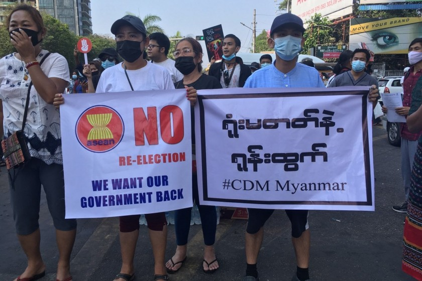 Facebook bans Myanmar army from its platforms
