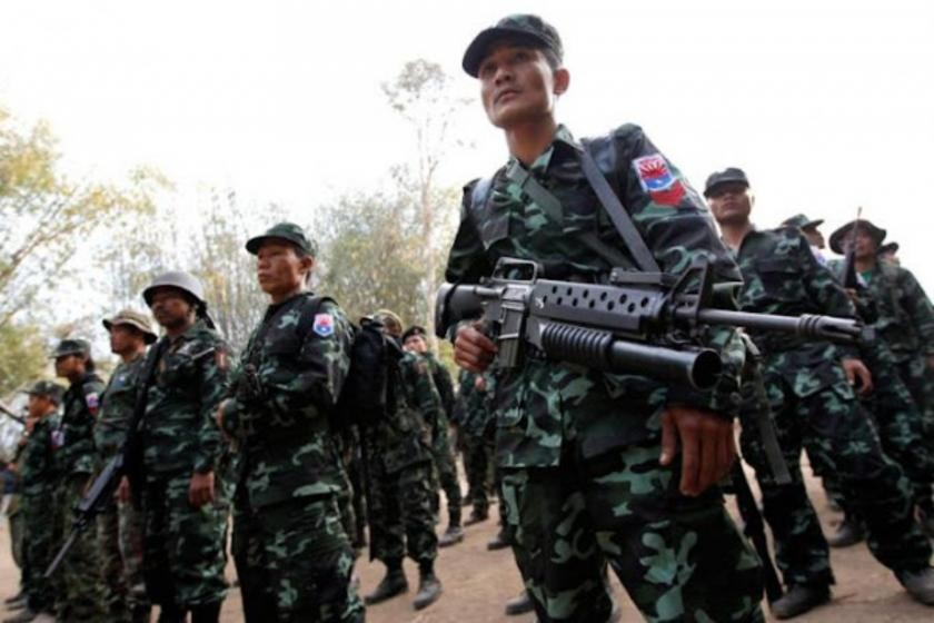 Karen National Liberation Army has 'killed more than 180 junta soldiers'  since June   Myanmar NOW