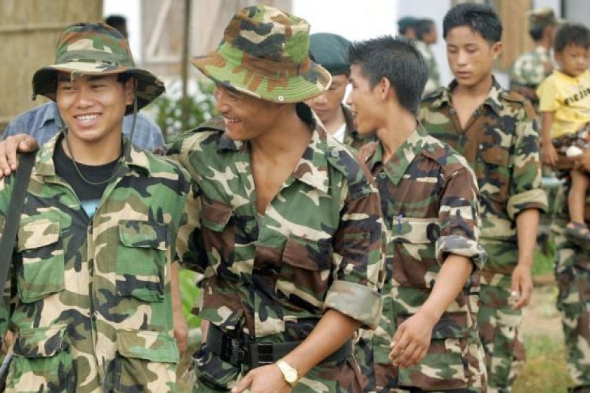 Demand for independent Naga homeland bars NSCN-K from