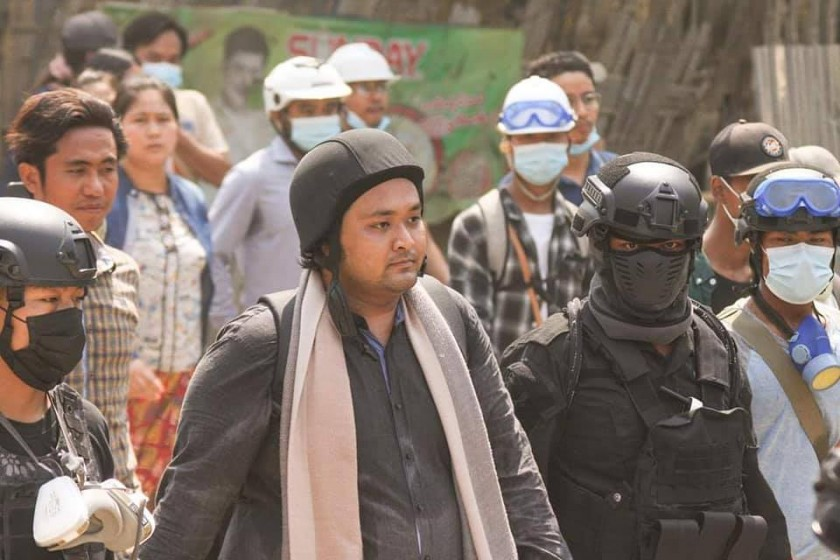 Wai Moe Naing, prominent leader of anti-coup movement, detained in Monywa | Myanmar NOW